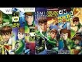 Ben 10 Videogame Evolution