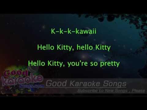 Hello Kitty - Avril Lavigne ( Karaoke Lyrics )