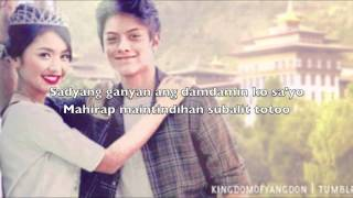 Repeat youtube video Mula Noon, Hanggang Ngayon by Kathryn Bernardo with Lyrics (Princess and I OST)