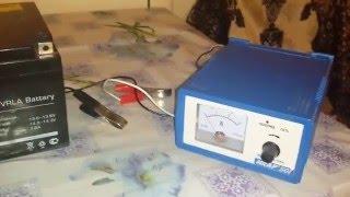 Зарядка АКБ для дитячої машинки