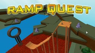 Roblox Build A Boat For Treasure - RAMP QUEST