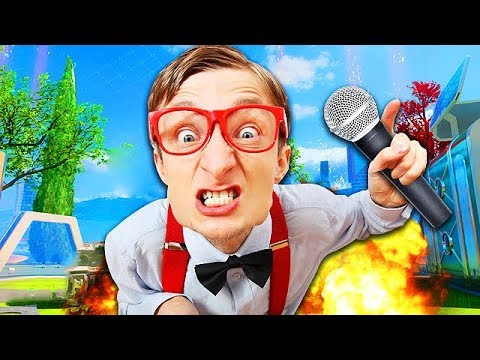 FASTEST NERD RAPPER DESTROYS HATERS ON BO3! (EPIC RAP BATTLE)