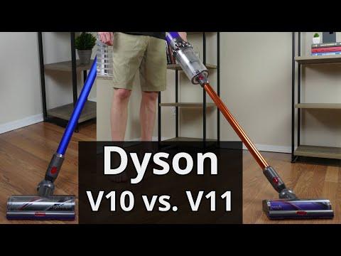 Dyson V10 vs. V11: Side-by-Side Dyson Vacuum Comparison