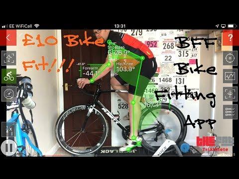 £10 Bike Fit. Testing The Bike Fast Fit (BFF) Bike Fitting App For IPhone