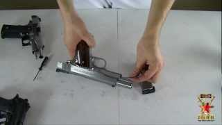 الحلقة 67- أنواع من المسدسات تنظيفها وفكها وتركيبها ج2