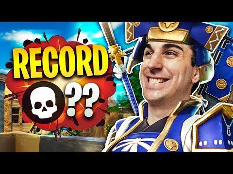 CON IL SAMURAI LEGGENDARIO BATTO IL RECORD DI KILL?? Fortnite Battle Royale