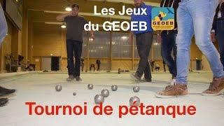 Les Jeux du GEOEB - Tournoi de Pétanque