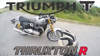 Triumph Thruxton R 1200 2016 - First Ride Review - The factory king of cool