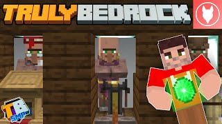 Truly Bedrock SMP - S2 : E17 - Making a Villager Breeder & Trading Hall