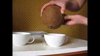 Как открыть кокос?