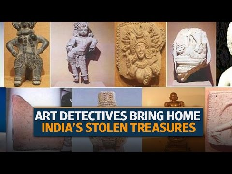Facebook art detectives bring home India's stolen treasures