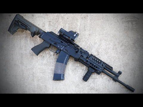 AK47 (AKM) / AK74 - TDi Arms X47 Rail System - Installation Video