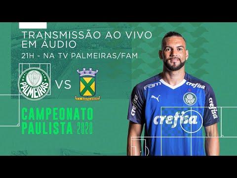 AO VIVO! Palmeiras x Santo André - PAULISTA 2020
