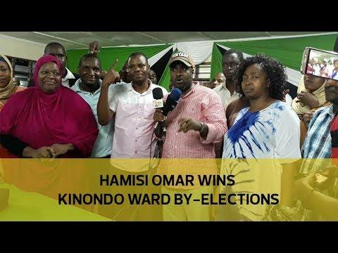 Hamisi Omar wins Kinondo ward by-election