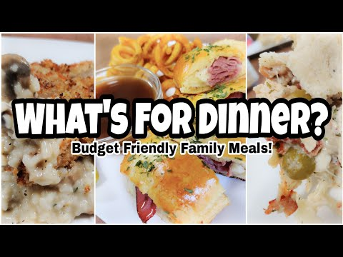 what's-for-dinner?-|-easy-and-budget-friendly-meals