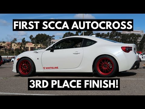 Toyota 86 STX Project - First SCCA Autocross