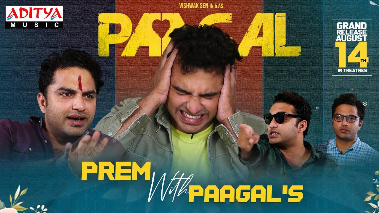 #PremWithPaagal's   Paagal Promotional Video   Vishwak Sen, Nivetha Pethuraj   Aug 14th Release