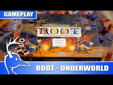 Root - The Underworld Expansion - Mountain Multiplayer - (Quackalope Gameplay)