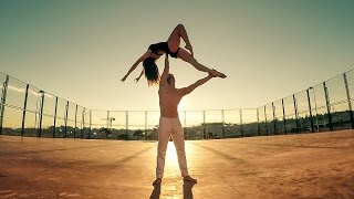 Duo b-lift || Unconditionally || Acro dance, lifts coreo HD || versión móvil.