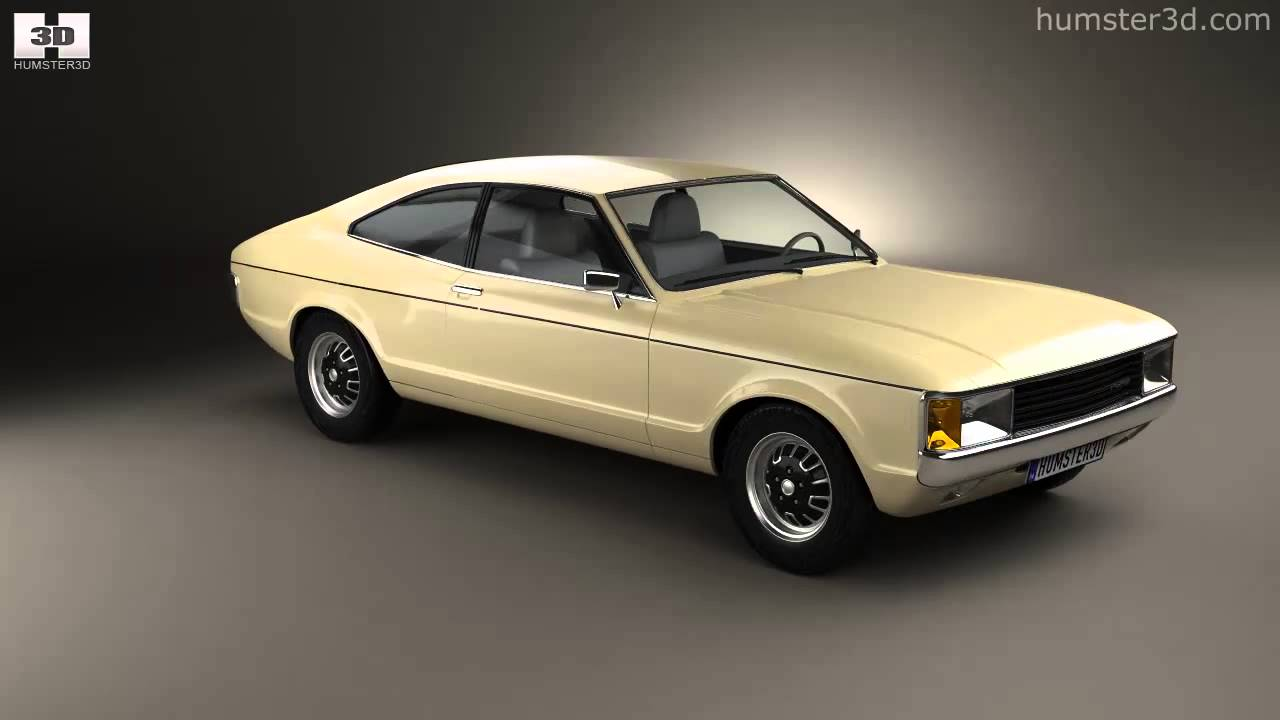 Ford granada coupe eu 1972 by 3d model store humster3d com youtube