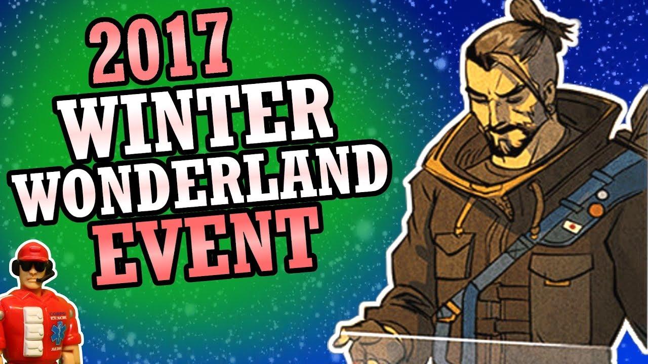 overwatch winter wonderland 2017 event start date new skins game mode predictions