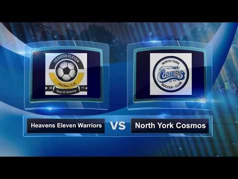 JULY 12, 2017: BRAMPTON'S UNDER 10 HEAVENS ELEVEN vs NORTH YORK COSMOS