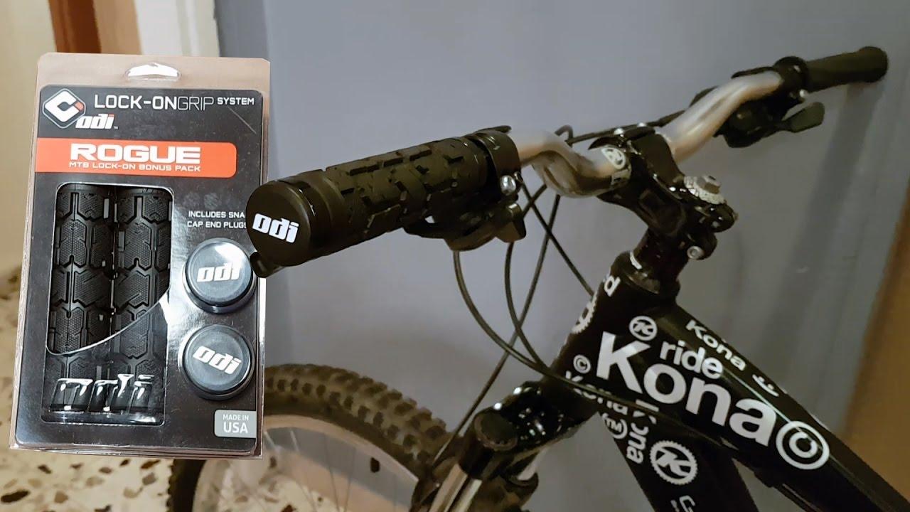 Black ODI Rogue BMX Lock-On Grips Bonus Pack