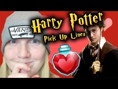 Reading Harry Potter Pick Up Lines (Try Not To Laugh)