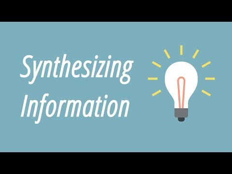 in synthesising