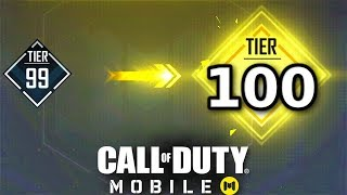 Level 100 on Call of Duty Mobile Battle Pass! - MAX LEVEL Call of Duty Mobile Preseason Battle Pass!