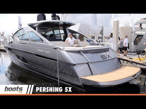 Pershing 5X: First Look Video Sponsored by United Marine Underwriters