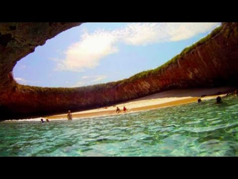 Playa Oculta de las Islas Marietas, en Jalisco y Nayarit, México