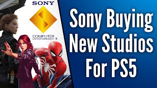 Sony Confirms They Are Buying New Studios For PS5 | Stresses Importance Of Exclusive Games