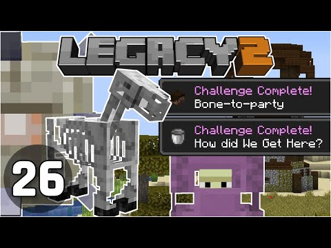 Advancement Race Ends.... Unexpectedly! - Legacy SMP 2: #26 | Minecraft 1.16 Survival Multiplayer
