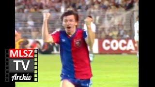 Real Madrid-Videoton | 0-1 | 1985. 05. 22 | MLSZ TV Archív