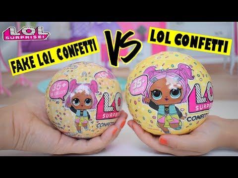 FAKE LQL Confetti VS LOL Confetti REAL Challenge | TÜRKİYE'DE İLK | Deniz Kızı