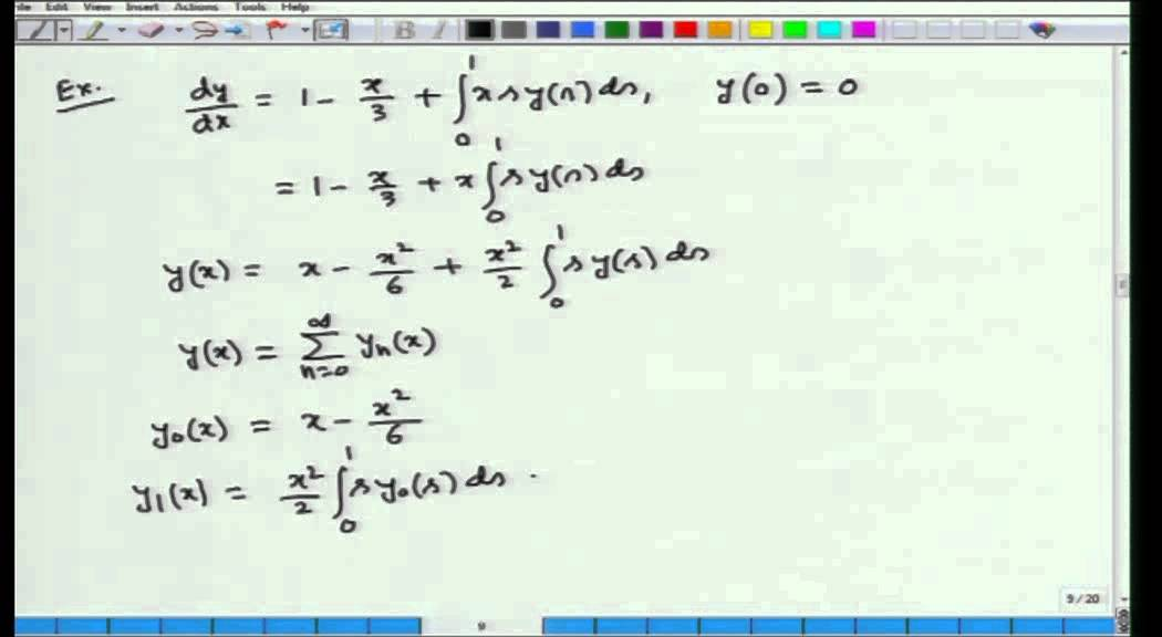 Mod-01 Lec-39 Calculus of Variations and Integral Equations