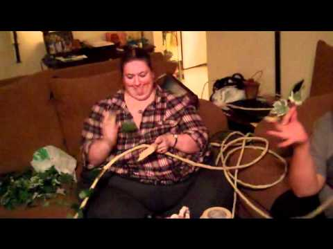 Making vines for sets inexpensively