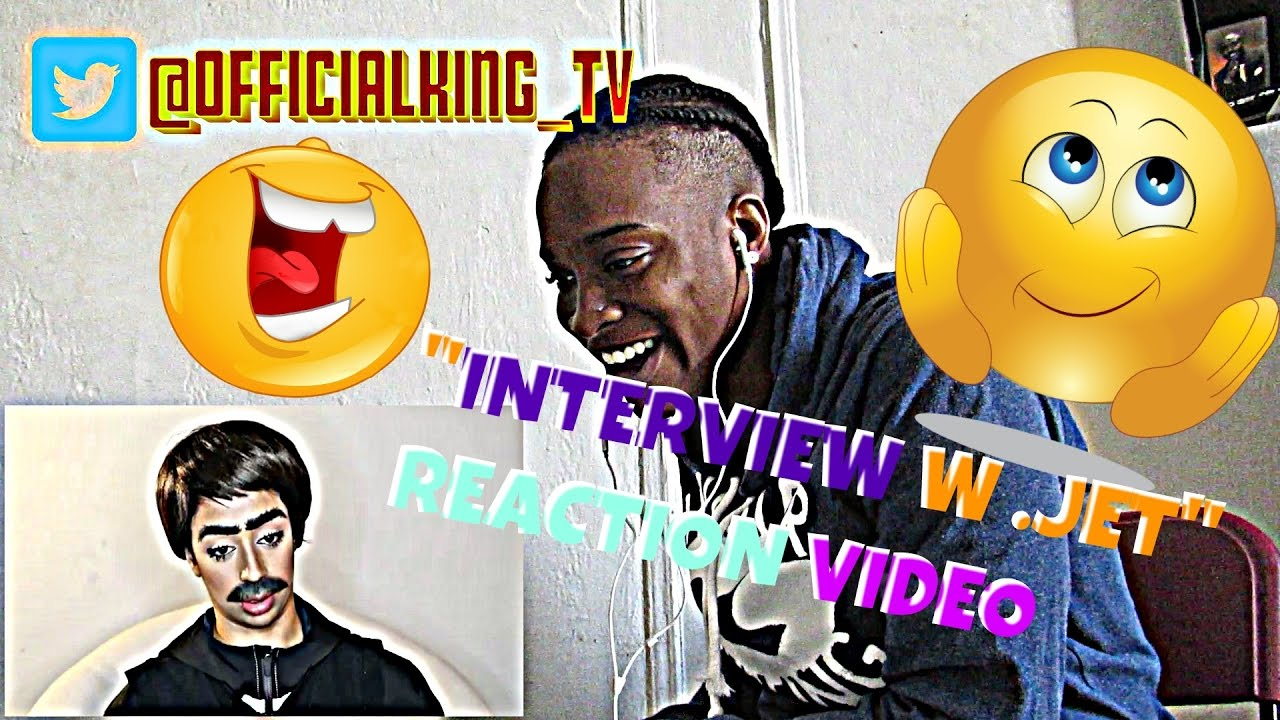 Download SHARPIE FOR EYELINER?! INTERVIEW WITH JET. REACTION VIDEO