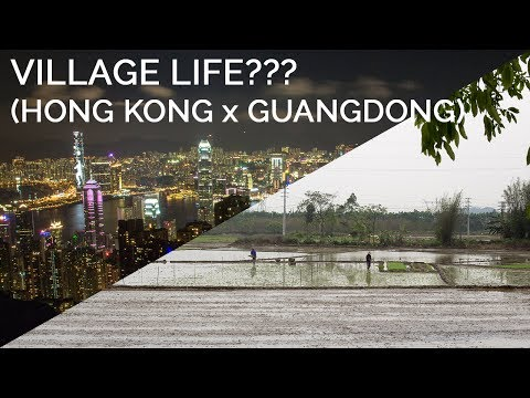 THE VILLAGE LIFE!!! (Hong Kong x Guangdong)