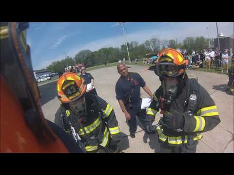 2017 Burlington County Junior Fire Fighter/Explorer Competition (Helmet POV)