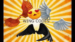 FREE Roblox Wing Codes!!