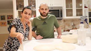 Что Нашли в Стене Арнак Готовит Своё Первое Тесто Для Хлеба Эгине Семейный Влог Heghineh