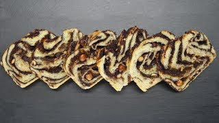 Chocolate babka bread made with Brod & Taylor proofer