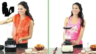 Vitamix Vs Blendtec Healthy Candied Yams Recipe By Blender Babes