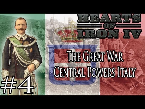 Central Powers Italy - Hearts of Iron 4 Great War Mod Part 4