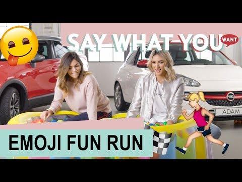 Say What You Want! #03 – Der Opel EMOJI FUN RUN