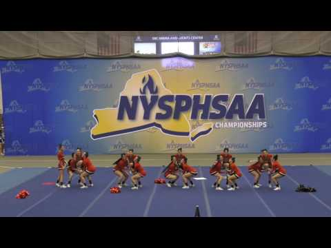 Plainedge Varsity Cheer Finals at NYSPHSAA 3/4/17