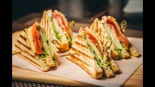 veg Club Sandwich Manek Chowk style, Ahmedabad