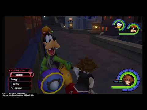 KINGDOM HEARTS - Final Mix Killing sniper wilds effectively
